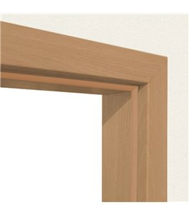 Türzarge Weißlack (RAL9010)