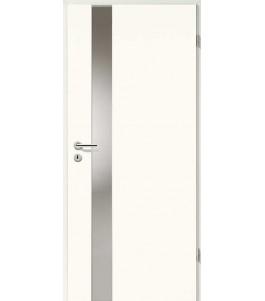 Designtür Weißlack 2502 (RAL9010) mit LA