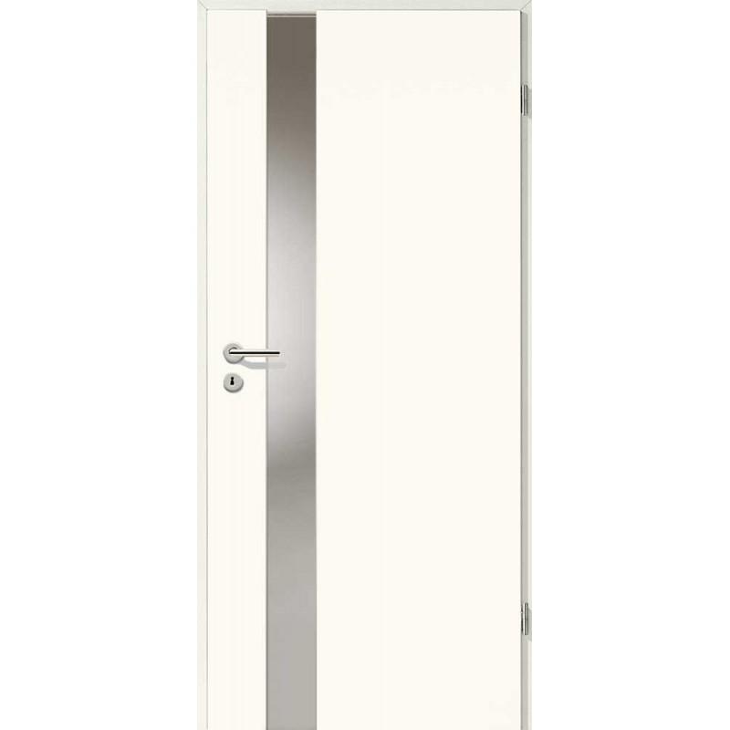 Holztüren - Designtür Weißlack 2502 (RAL9010) mit LA