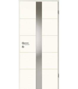 Designtür Weißlack 2505 (RAL9010) mit LA