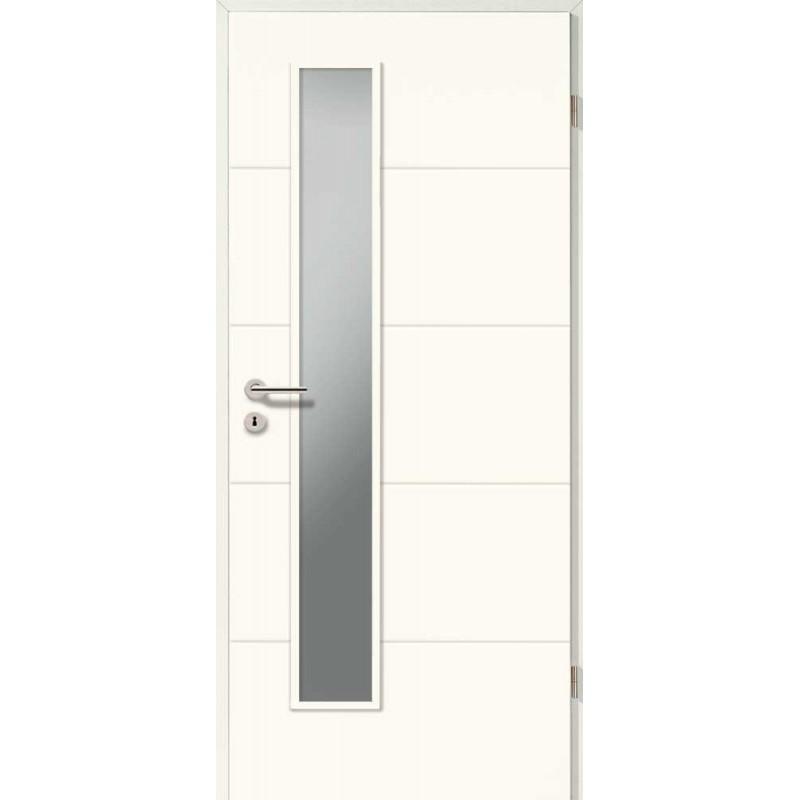 Holztüren - Designtür Lackweiß 5505 (RAL9010) mit LA