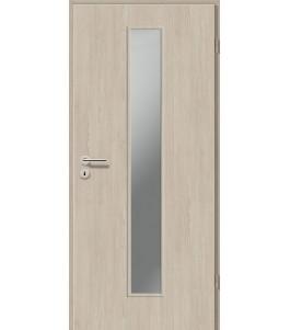Holztüren - Türblatt CPL - Platineiche mit Lichtausschnitt LA-1