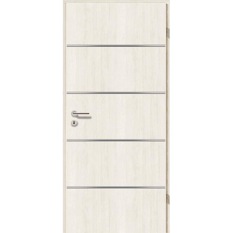 Lisenen-Türen - Pinie Weiß