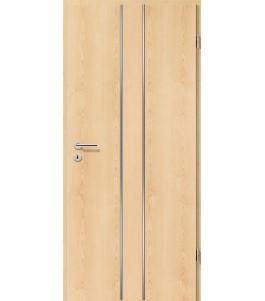 Lisenen-Türen - Ahorn Natur-3501