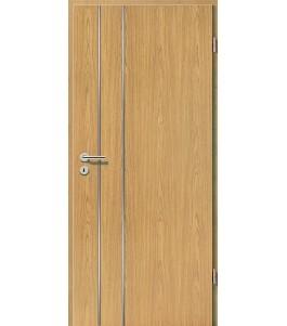 Lisenen-Türen - Eiche Hell-3502