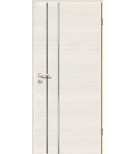 Lisenen-Türen - Pinie Weiß Cross-3502