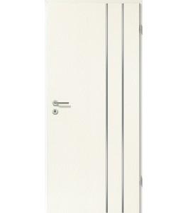 Lisenen-Türen - Esche Weiß-3503