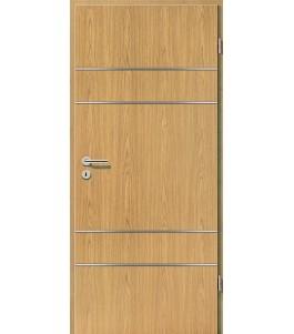 Lisenen-Türen - Eiche Hell-3504