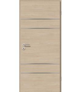 Lisenen-Türen - Bernsteineiche Cross-3504