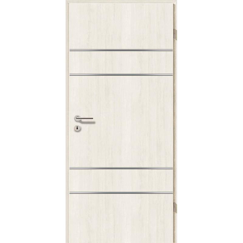 Lisenen-Türen - Pinie Weiß-3504