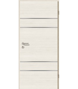 Lisenen-Türen - Pinie Weiß Cross-3504