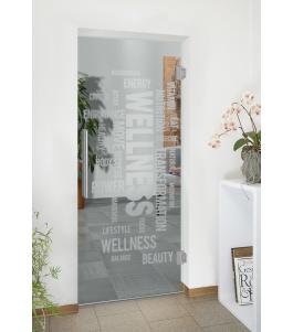 Pendeltür Wellness